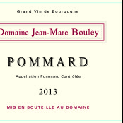 2013 Thomas et Jean Marc Bouley Pommard villages