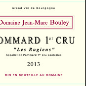 2013 Thomas et Jean Marc Bouley Pommard 1er cru Rugiens