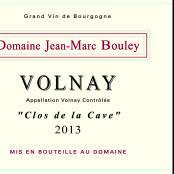 2013 Thomas et Jean Marc Bouley Volnay Clos de la Cave