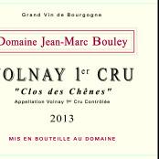 2013 Thomas et Jean Marc Bouley Volnay 1er cru Clos des Chenes