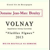 2013 Thomas et Jean Marc Bouley Volnay villages Vieilles Vignes