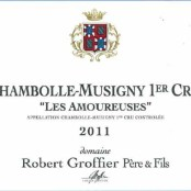 2013 Robert Groffier Chambolle Musigny 1er cru les Amoureuses