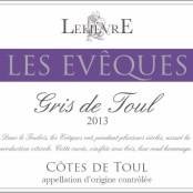 2013 Domaine Lelievre Vin Gris de Toul Les Eveques