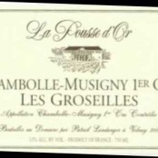 2013 Pousse d'Or Chambolle Musigny 1er cru Groseilles