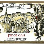 2014 Justin Boxler Pinot Gris