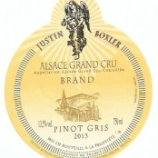 2013 Justin Boxler Pinot Gris Brand Grand cru