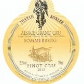 2013 Justin Boxler Pinot Gris Sommerberg Grand cru