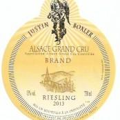 2013 Justin Boxler Riesling Brand Grand cru