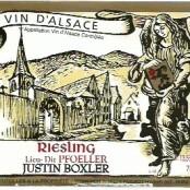 2013 Justin Boxler Riesling Pfoeller