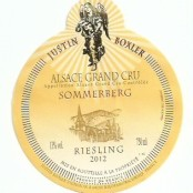 2012 Justin Boxler Riesling Sommerberg Grand cru