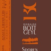 2012 Bott-Geyl Riesling Sporen Grand cru