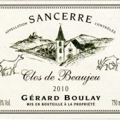 2016 Gerard Boulay Sancerre Clos de Beaujeu