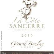 2016 Gerard Boulay Sancerre la Cote