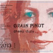2014 Marie Therese Chappaz Champ Dury Pinot Noir