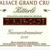 2012 Dirler-Cadé Gewurztraminer Kitterlé Grand cru