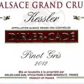2012 Dirler-Cadé Pinot Gris Kessler Grand cru