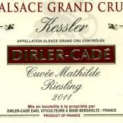 2011 Dirler-Cadé Riesling Kessler Cuvée Mathilde