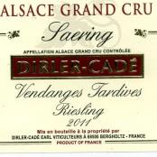 2011 Dirler-Cadé Riesling Saering Grand cru Vendange Tardive