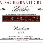 2012 Dirler-Cadé Riesling Kessler Grand cru