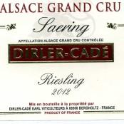 2012 Dirler-Cadé Riesling Saering Grand Cru