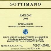 2012 Sottimano Barbaresco Fausoni