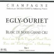 Egly Ouriet Blanc de Noirs Grand cru les Crayeres VV
