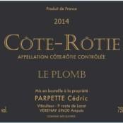 2014 Cedric Parpette Cote Rotie le Plomb