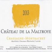 2014 Chateau de la Maltroye Chassagne Montrachet villages blanc