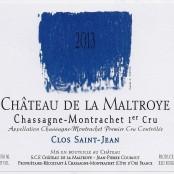 2014 Chateau de la Maltroye Chassagne Montrachet 1er Clos St Jean