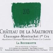2013 Chateau de la Maltroye Chassagne Montrachet 1er cru Boudriottes