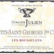 2013 Gerard Julien Nuits St Georges 1er les Bousselots