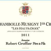 2014 Robert Groffier Chambolle Musigny 1er Haut Doix