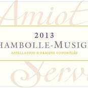 2014 Amiot Servelle Chambolle Musigny villages