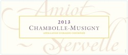 2016 Amiot Servelle Chambolle Musigny villages