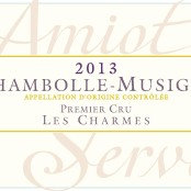 2014 Amiot Servelle Chambolle Musigny 1er Charmes