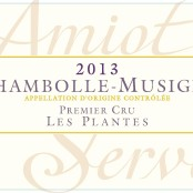 2014 Amiot Servelle Chambolle Musigny 1er Plantes