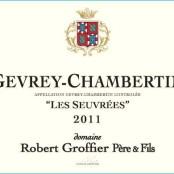 2014 Robert Groffier Gevrey Chambertin villages les Seuvrées