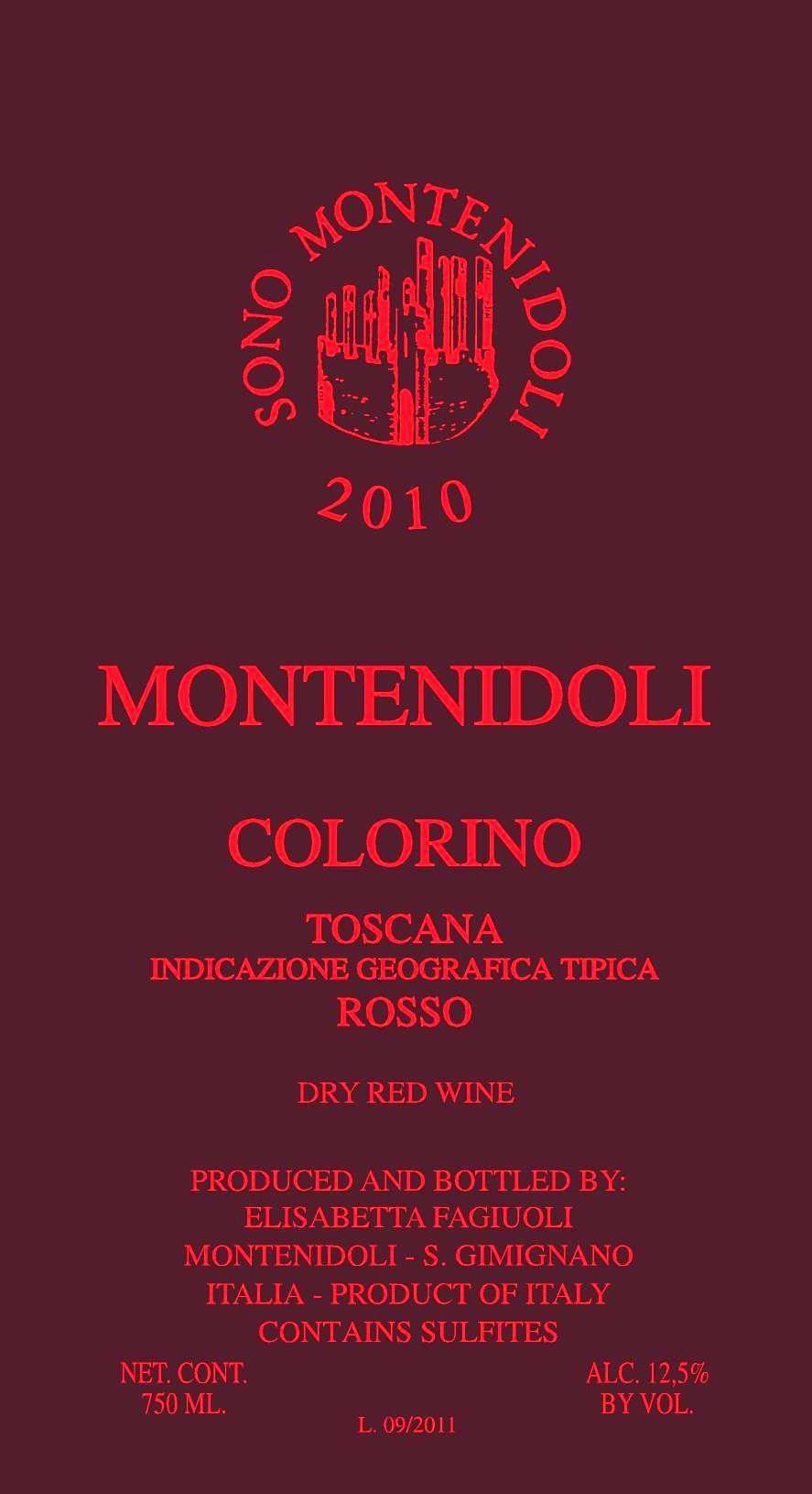 2015 Montenidoli Colorino