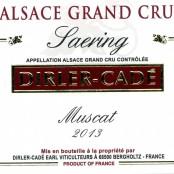 2014 Dirler-Cadé Muscat Saering Grand cru