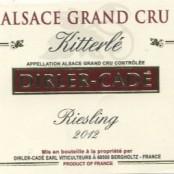 2014 Dirler-Cadé Riesling Kitterlé Grand cru