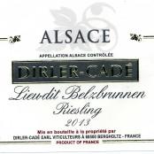 2014 Dirler-Cadé Riesling Belzbrunnen