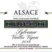 2014 Dirler-Cadé Sylvaner Vieilles Vignes