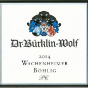 2014 Bürklin-Wolf Wachenheimer Böhlig Riesling Premier cru