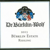 2015 Bürklin-Wolf Riesling Estate