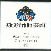 2014 Bürklin-Wolf Wachenheimer Goldbächel Riesling Premier cru