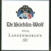 2014 Bürklin-Wolf Deidesheimer Langenmorgen Riesling Grand cru