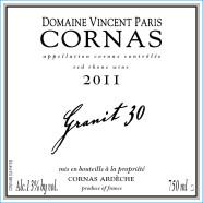 2014 Vincent Paris Cornas Granit 30
