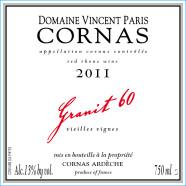 2014 Vincent Paris Cornas Granit 60 VV