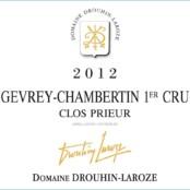 2014 Drouhin Laroze Gevrey Chambertin 1er Clos Prieur