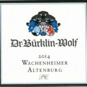 2015 Bürklin-Wolf Wachenheimer Altenburg Riesling Premier cru